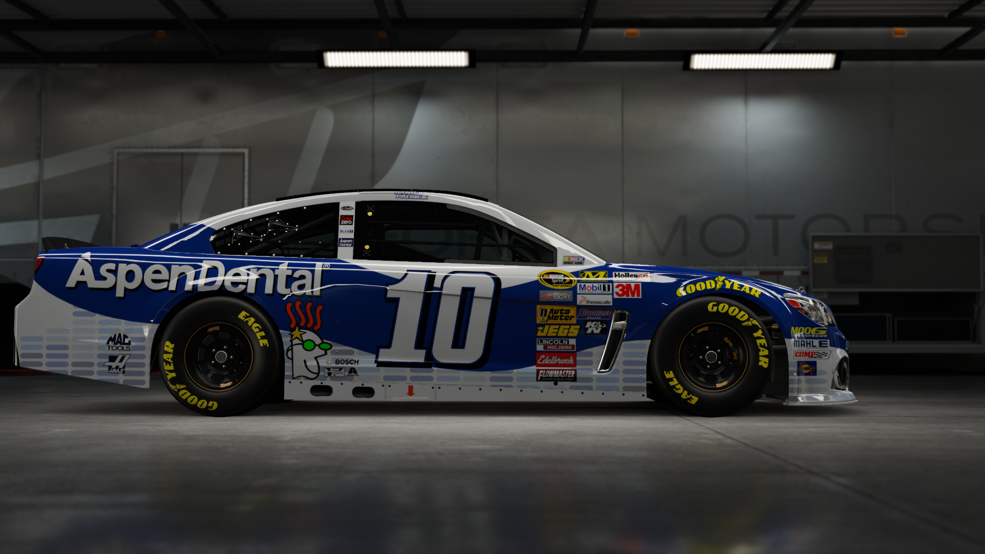 On the #10 Stewart-Haas Racing Nature's Bakery Super Sport, Made by SweedishThunder