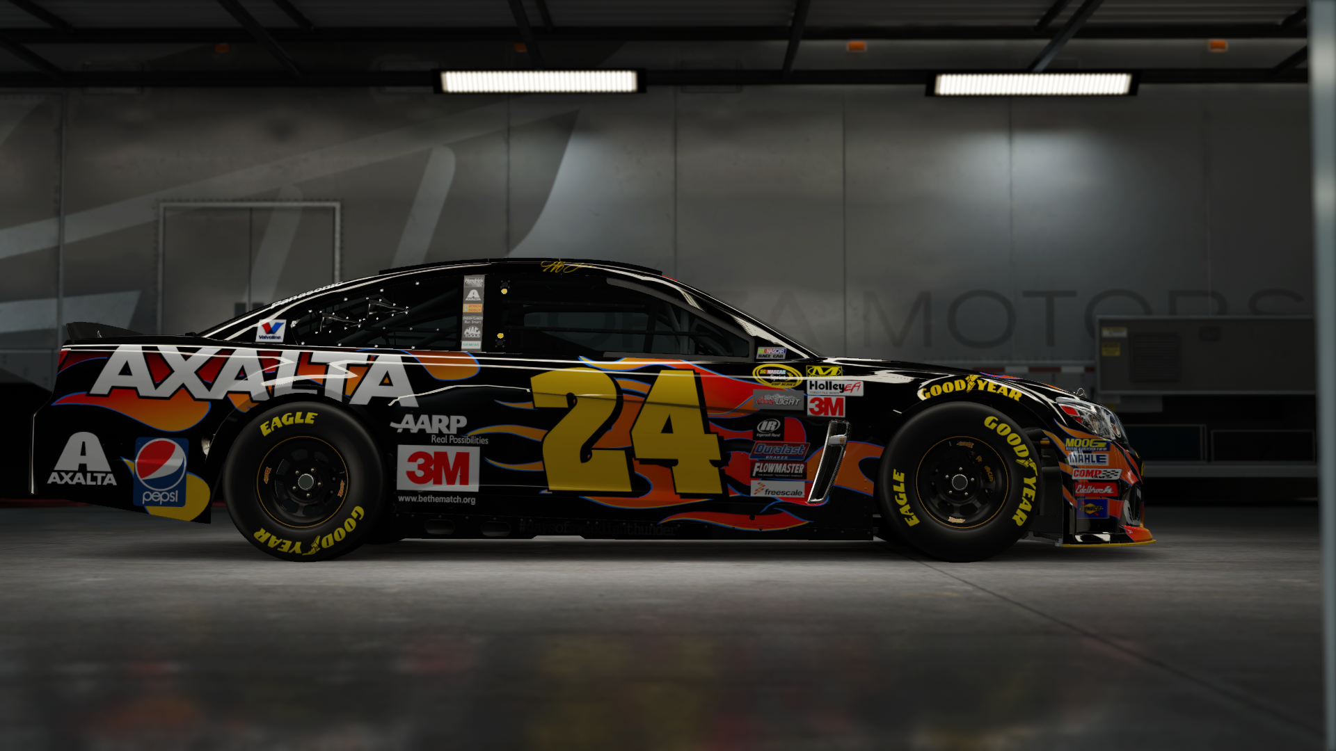 On the #24 Hendrick Motorsports NAPA Super Sport, Made by SweedishThunder