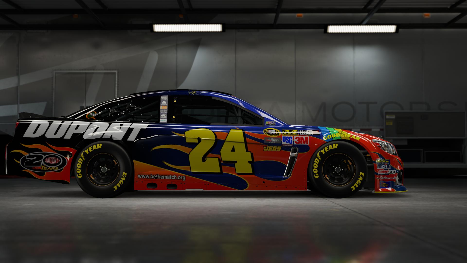 On the #24 Hendrick Motorsports NAPA Super Sport, Made by SweedishThunder