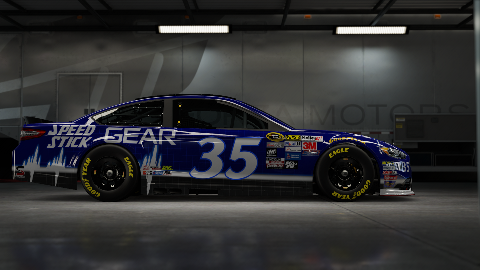 On the #2 Team Penske Brad K Ford Fusion, Made by SweedishThunder