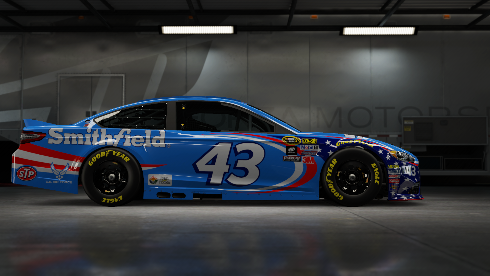 On the #2 Team Penske Brad K. Ford Fusion, Made by SweedishThunder