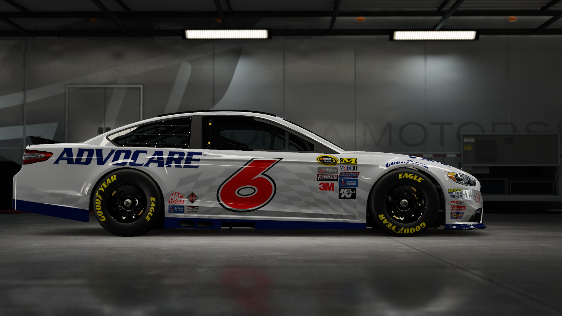 On the Team Penske 'Brad K.' Ford Fusion, Made by SweedishThunder