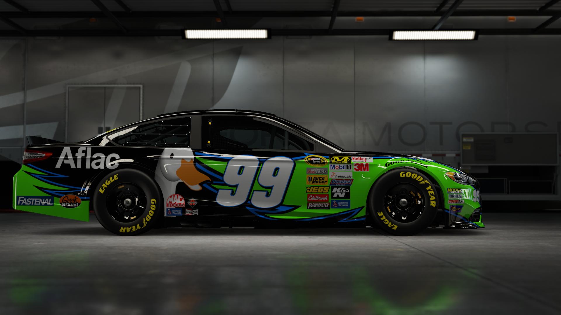 On the #2 Team Penske Brad K. Ford Fusion